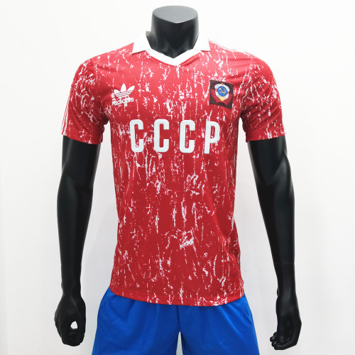 CCCP Soviet Union 1989-91 Home Retro Jerseys