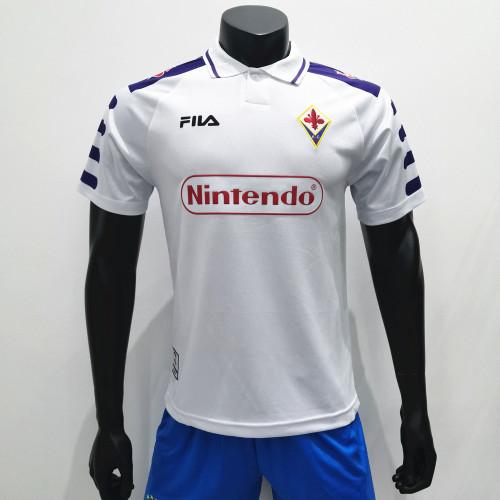 Fiorentina 1998/1999 Away Retro Soccer Jerseys