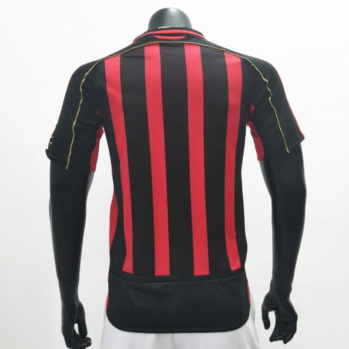 AC Milan 2006/2007 Home Retro Soccer Jerseys