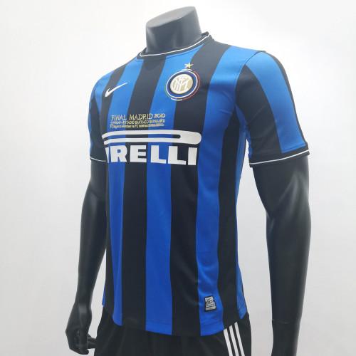 Inter Milan 2009/2010 Home Retro Soccer Jerseys