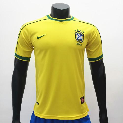 Brazil 1998/2000 Home Retro Soccer Jerseys