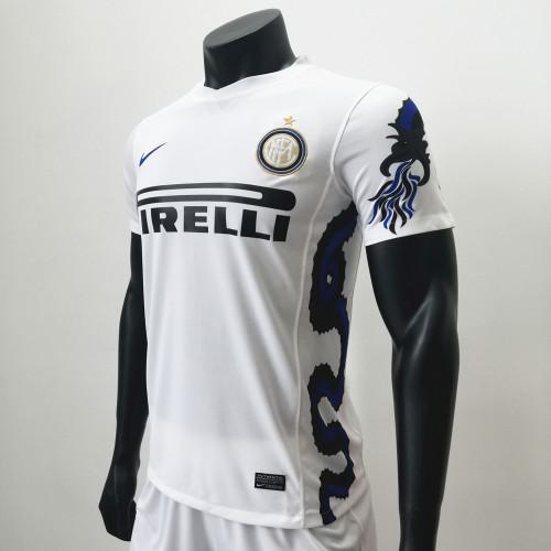 Inter Milan 2010-11 Away Retro Soccer Jerseys