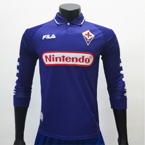 Fiorentina 1998/1999 Home LS Retro Jerseys