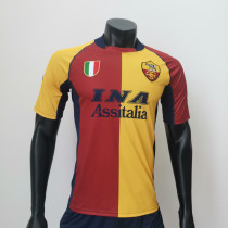 Roma 2001/2002 Home Retro Soccer Jerseys