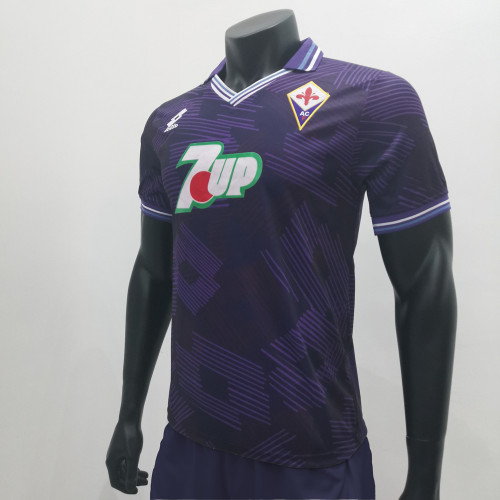 Fiorentina 1992/1993 Home Retro Soccer Jerseys
