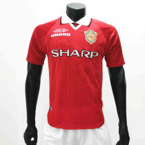 Manchester United 1999/2000 Home Retro Soccer Jerseys