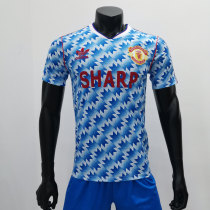 Manchester United 1990/1992 Away Retro Soccer Jerseys