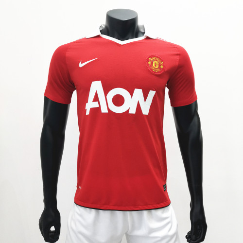 Manchester United 2010/2011 Home Retro Soccer Jerseys