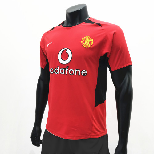 Manchester United 2002/2003 Home Retro Soccer Jerseys