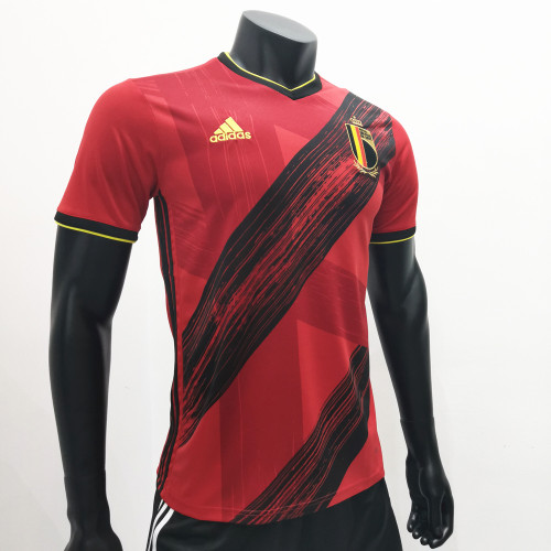 Thai Version Belgium Euro 2020 Home Jersey by shootjerseys