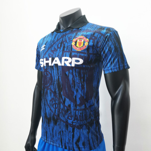 Manchester United 1992/1993 Away Retro Soccer Jerseys