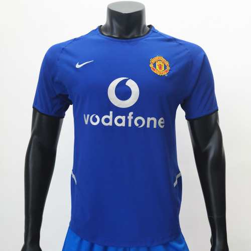 Manchester United 2002/2003 Third Retro Soccer Jerseys