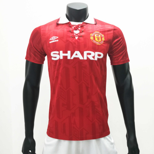 Manchester United 1992/1994 Home Retro Soccer Jerseys