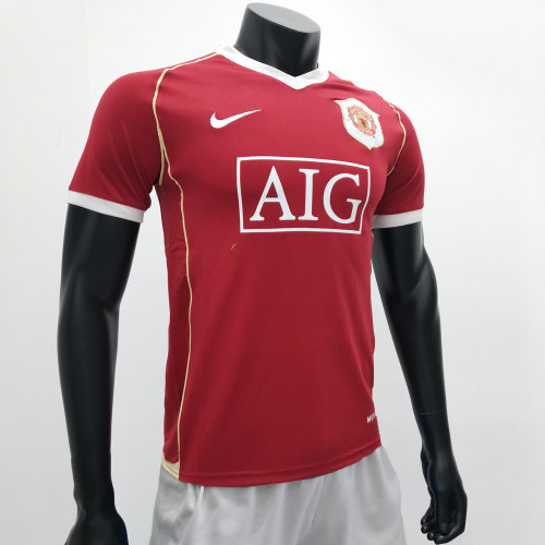 Manchester United 2006/2007 Home Retro Soccer Jerseys