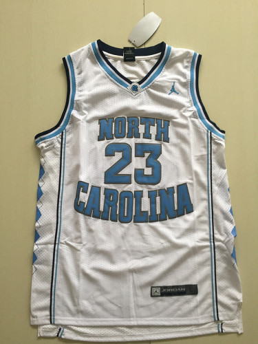 Michael Jordan 23 North Carolina College Basketball Jersey With AJ Logo