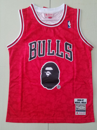 Chicago Bulls Men's Michael Jordan Fashion Edition Basketball Jersey