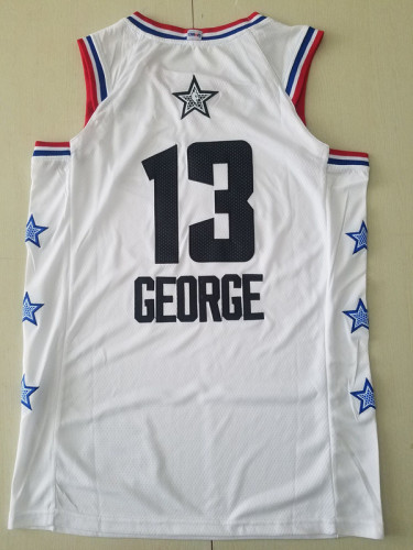 Paul George 2019 All Star Basketball Jersey