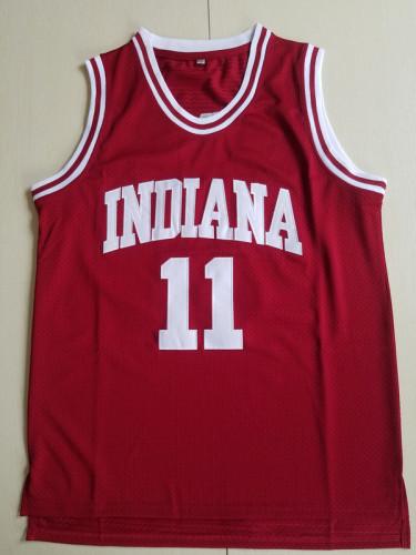 Isiah Thomas 11 Indiana College Crimson Basketball Jersey