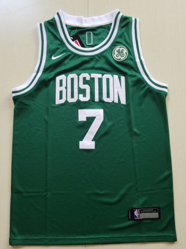 Youth Boston Celtics Jaylen Brown 7 Basketball Club Player Jersey