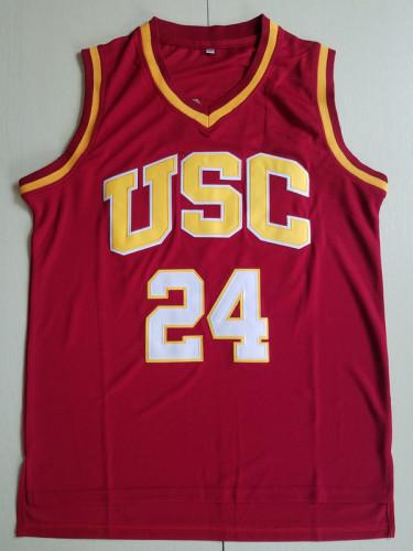 Brian Scalabrine 24 USC College Basketball Jersey