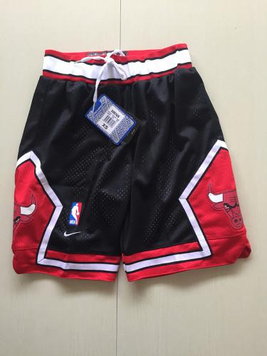 Youth Chicago Bulls Basketball Club Black Shorts