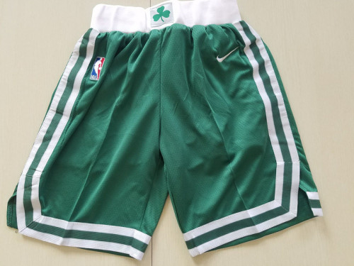 Youth Boston Celtics Basketball Club Green Shorts