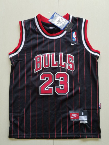 Youth Chicago Bulls  Michael Jordan 23 Retro Classics Basketball Team Jersey