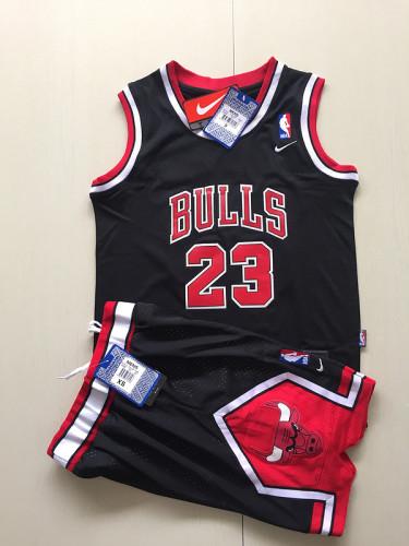 Youth Chicago Bulls  Michael Jordan 23 Classics Basketball Player Jersey Kit
