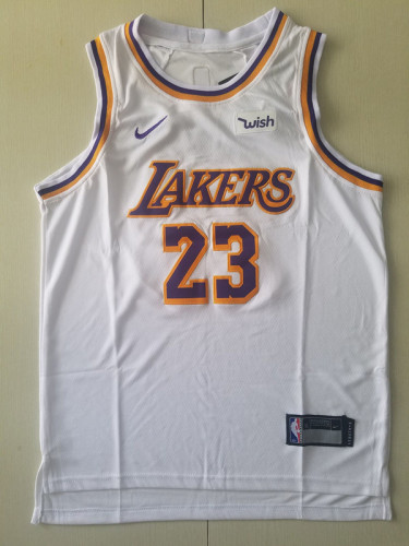 Youth Los Angeles Lakers LeBron James 23 Basketball Club Player Jersey