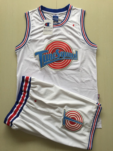 Michael Jordan 23 Movie Edition White Basketball Jersey Kit