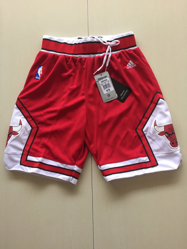 Youth Chicago Bulls Basketball Club Red Shorts