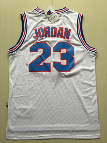 Michael Jordan 23 Movie Edition White Basketball Jersey