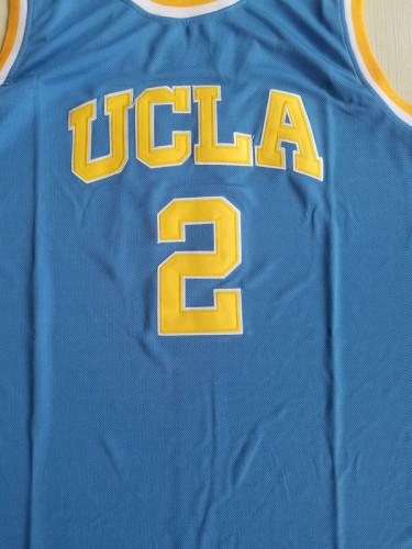 Lonzo Ball 2 UCLA College Light Blue Basketball Jersey