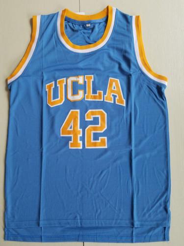 Love 42 UCLA College Light Blue Basketball Jersey