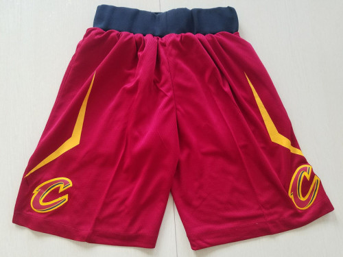 Youth Cleveland Cavaliers Basketball Club Red Shorts
