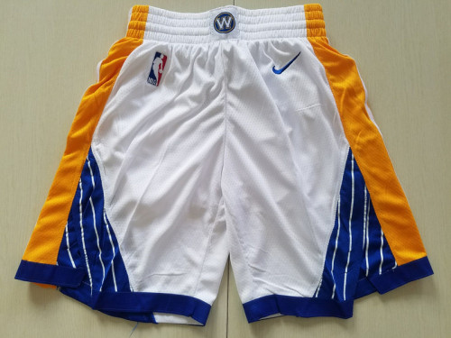 Golden State Basketball Club White Shorts