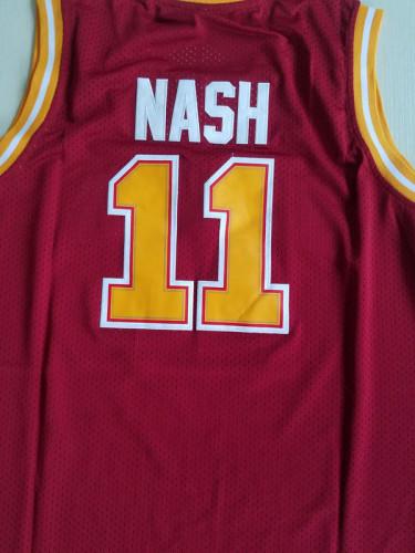 Steve Nash 11 Santa Clara Maroon College Basketball Jersey