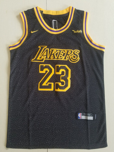 Youth Los Angeles Lakers LeBron James 23 Basketball Club Player Jersey - City Edition