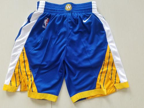 Golden State Warriors  Basketball Club Blue Shorts