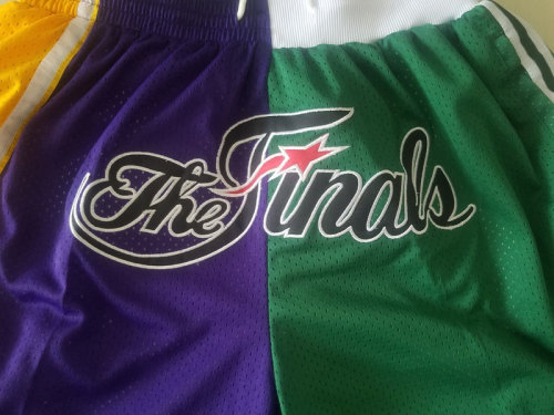 The Finals 2008 Throwback Classics Basketball Shorts