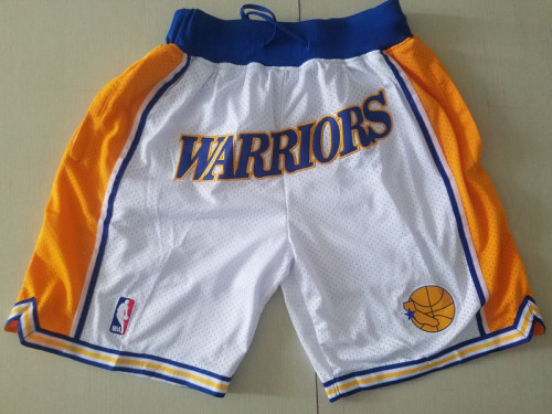 Golden State Warriors 1995-96 Throwback Classics Basketball Team Shorts