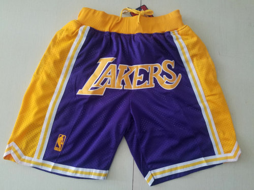 Los Angeles 1996-97 Retro Classics Basketball Club Shorts