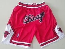 Chicago Bulls 1997-98 Throwback Classics Basketball Team Shorts