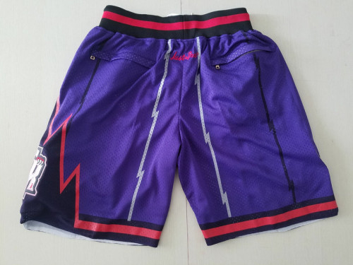Toronto Raptors 1998-99 Throwback Classics Basketball Team Shorts