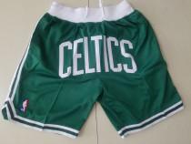 Boston Celtics J*D Basketball Team Shorts