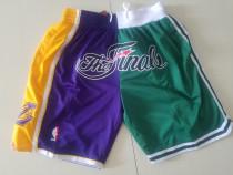 Boston Celtics The Finals 2008 Throwback Classics Basketball Shorts