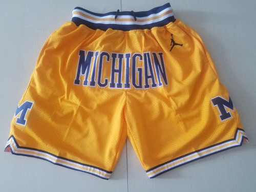Michigan State College Navy Blue Basketball Shorts