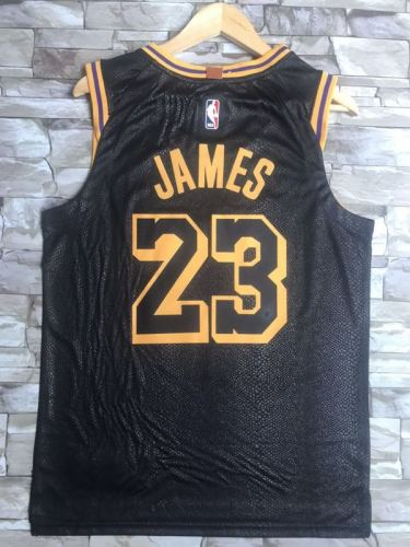 Los Angeles Lakers LeBron James 23 Basketball Club City Edition Jersey