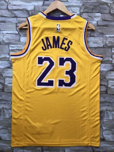 Los Angeles Lakers LeBron James 23 Basketball Club Player Jersey