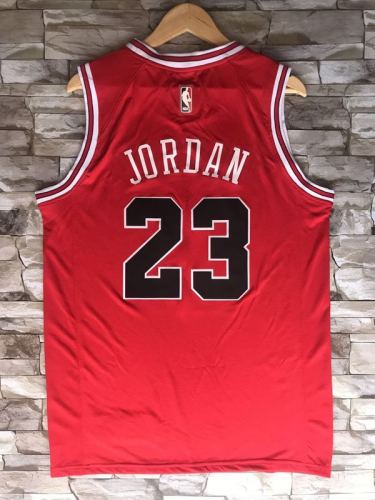Chicago Bulls Michael Jordan 23 Red Throwback Classics Jerseys